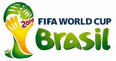 ワールドカップサッカーブラジル大会ロゴ