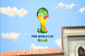 2014FIFAワールドカップW杯ブラジルロゴTV家空