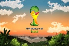 2014FIFAワールドカップW杯ブラジルロゴTVジャングル森