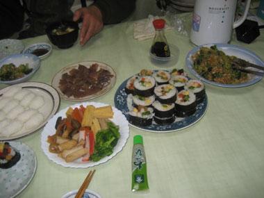 、太巻き寿司2
