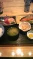 ランチ セレクト2品 焼鮭、刺身
