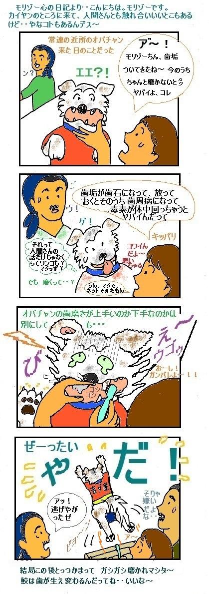 モリゾーちん63 モリゾー日記より 受難日
