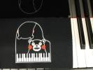 グランドピアノのキーカバー