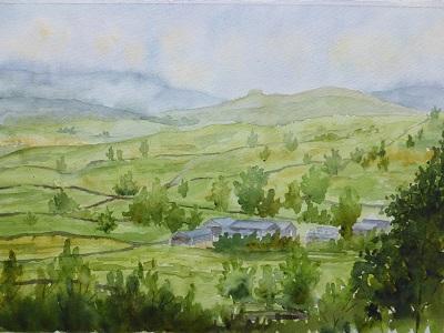 イングランドの丘陵地