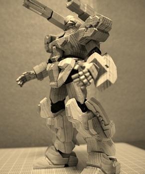 木彫りザク9