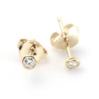Tiffany(ティファニー) ダイヤモンド バイ ザ ヤード ピアス 10ct 18Y 12818653