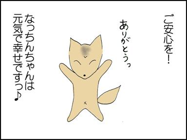 ご安心を!!なっちんちゃんは元気で幸せです!!