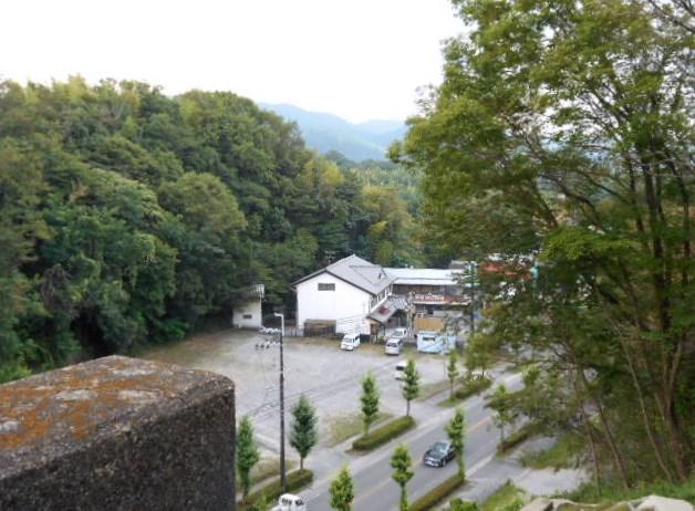 黒髪橋から「奈良・高円方面」