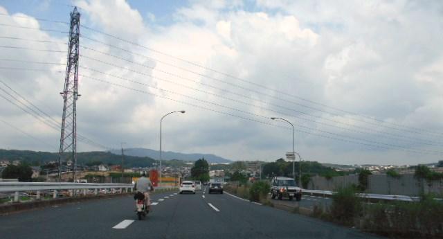 阪奈道路「生駒方面に向かって」