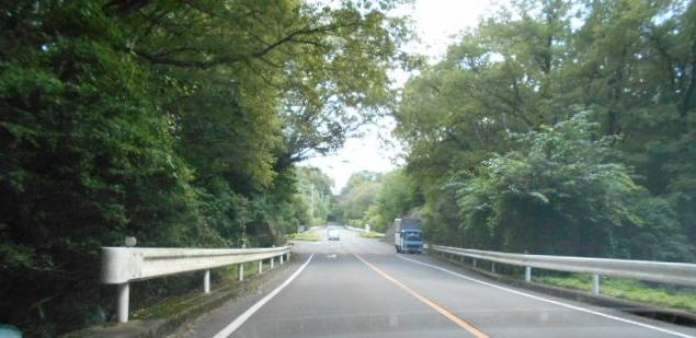 山麓公園への道 (1)