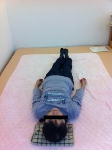 面白いほどカラダが変わる!肩コリ・腰痛・膝痛が回復する法則-施術前②