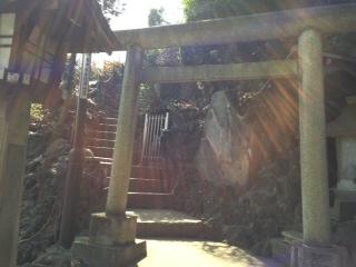 富士塚鳥居