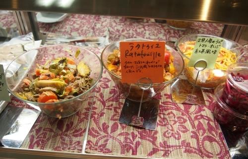 ターブル・オギノ ショーケース 惣菜・サラダ