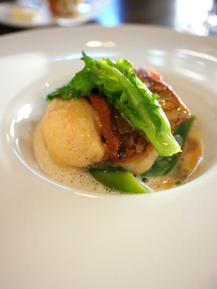 ル・ボン・サンス 魚料理