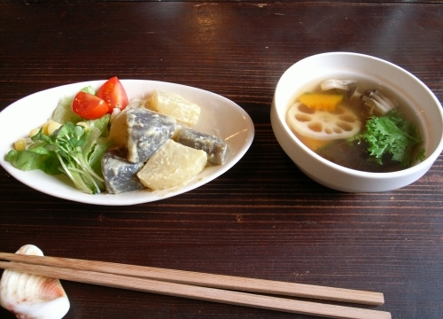 カリー河 小鉢 スープ