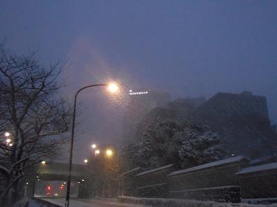 淡路町 雪