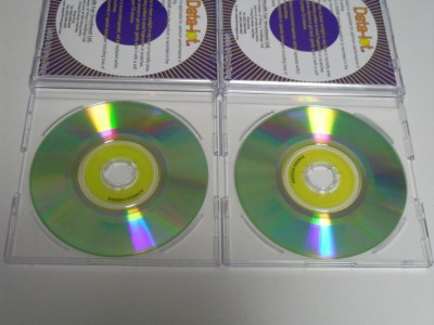 あきばおー ジャンク Mini CD-R 書き込み比較