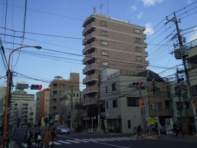 自転車の旅 北千住 浅草 押上 南千住 上野 押上二丁目 向島三丁目 信号機