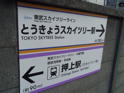 自転車の旅 北千住 浅草 押上 南千住 上野 とうきょうスカイツリー駅 押上駅
