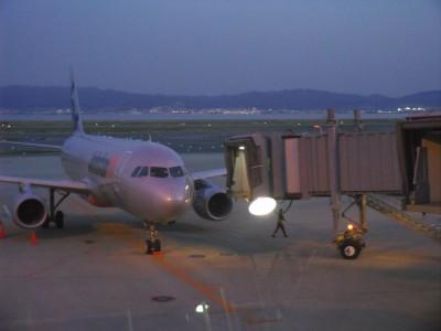 関西の一人旅 三日目 関西空港 飛行機