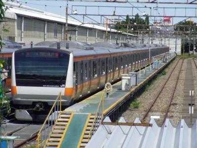 中央線 E233 武蔵小金井
