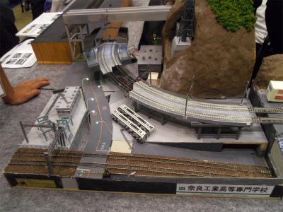 奈良工業高等学校 鉄道模型コンテスト2014