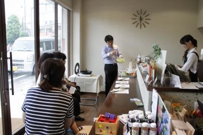 社長の料理教室