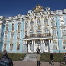 サンクトペテルブルグのエカテリ ーナ宮殿