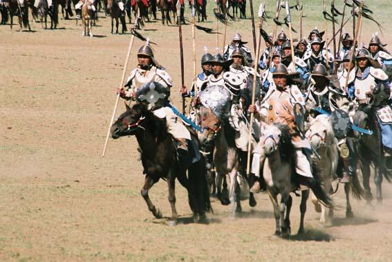 モンゴル騎兵
