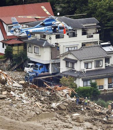 広島土砂災害0824