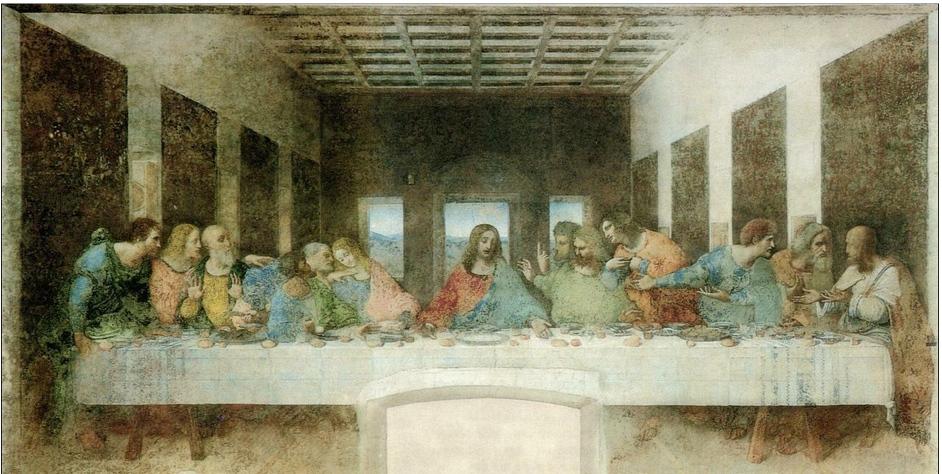 レオナルド・ダ・ヴィンチ 『最後の晩餐』