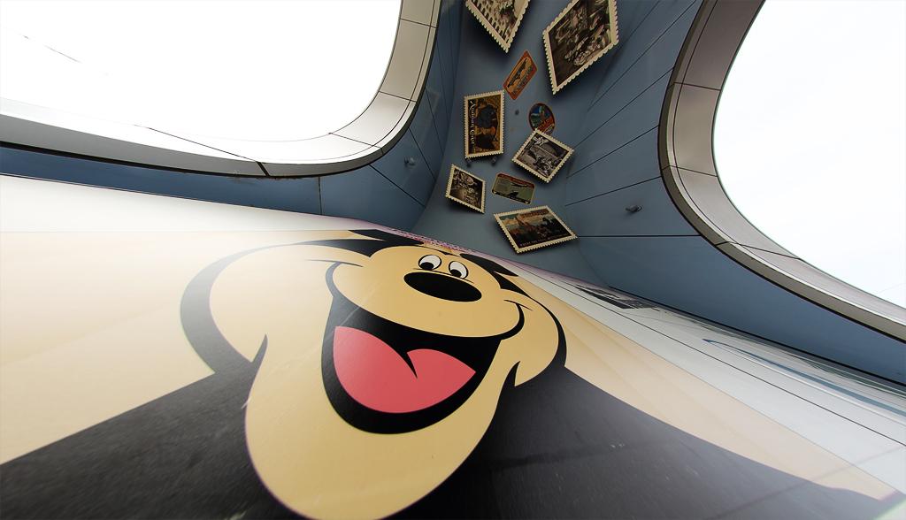 ミッキーが教えてくれた熊さんの書き方(ボン・ヴォヤージュ)