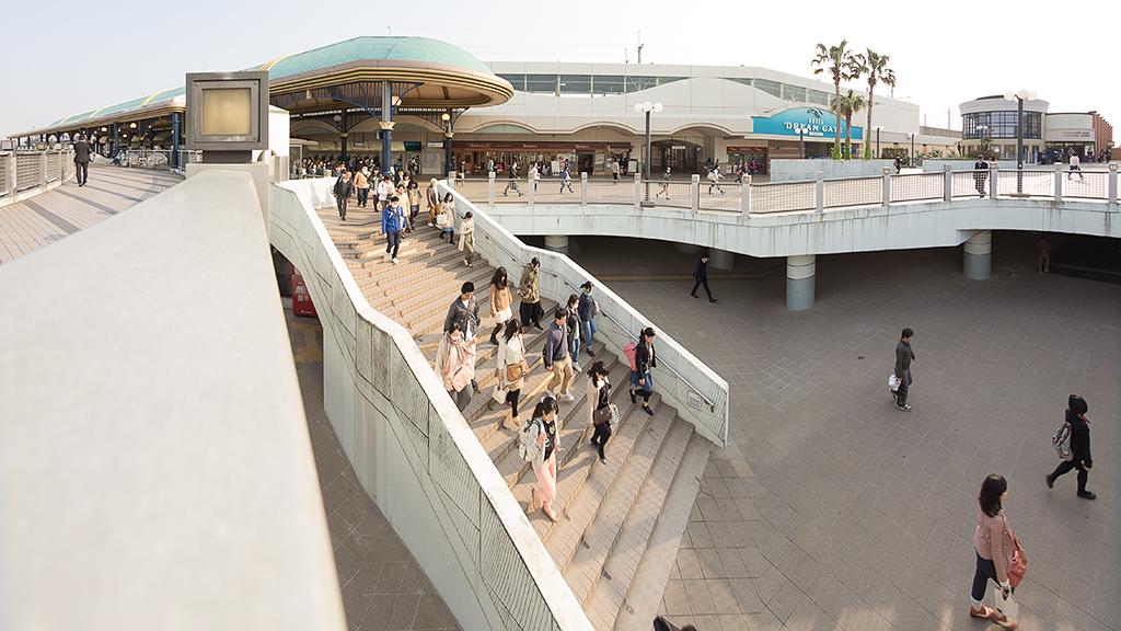 通勤ルート(JR舞浜駅)