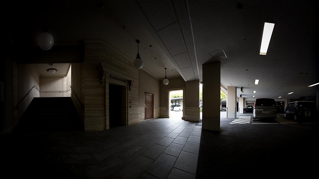 エレベータ付近(東京ディズニーシー・ホテルミラコスタ・パーキング)