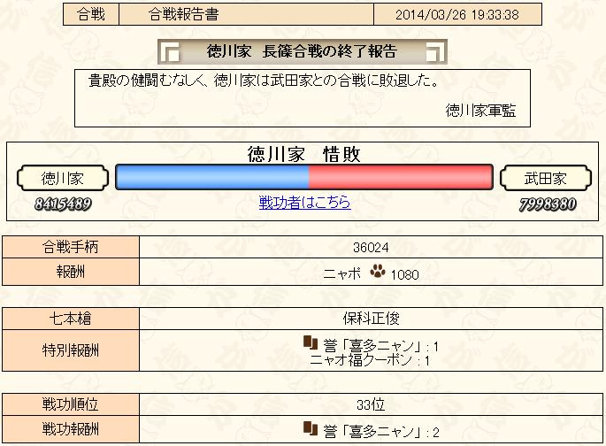 合戦3-2報告書