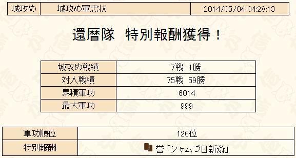 城攻め2014-5-軍