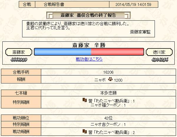 5月合戦下報告書