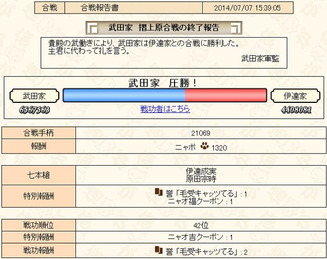合戦7-1報告書