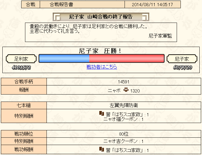 合戦8-1報告書