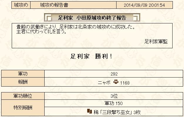城攻め2014-9-5