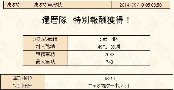 城攻め2014-9-軍忠状