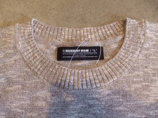 MDY SUMMER KNIT SWEATER TOPGRAY FT2