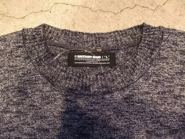 MDY SUMMER KNIT SWEATER NAVY FT2