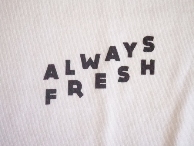 MDY ALWAYS FRESH SS TEE WHITE FT