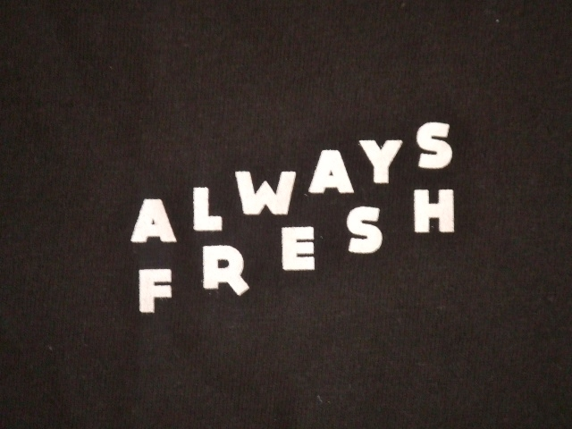 MDY ALWAYS FRESH SS TEE BLACK FT