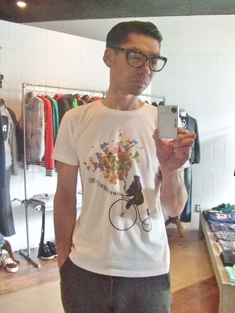 rehacer FLOWER ELEPHANT SS TEE IVORY st