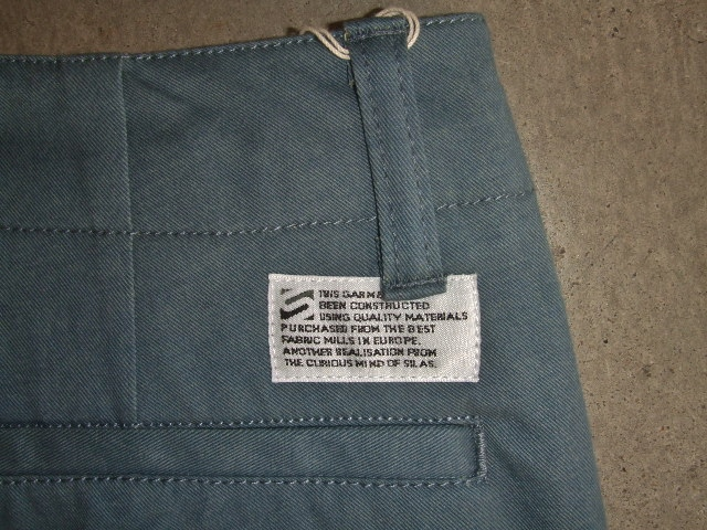 SILAS TWILL TROUSERS BKTG