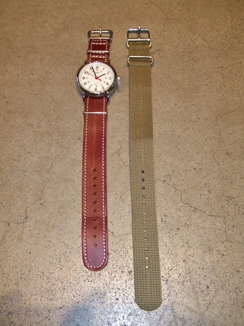rehacer × TIMEX × Cramp Mix watch BURGUNDY FT1