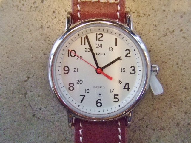 rehacer × TIMEX × Cramp Mix watch BURGUNDY
