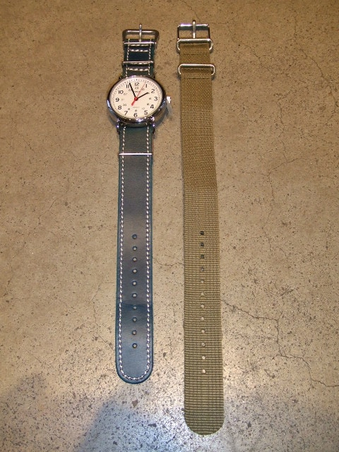 rehacer × TIMEX × Cramp Mix watch NAVY FT1